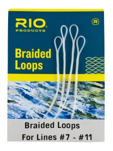 Rio Braided Loops 4er-Pack #7-12