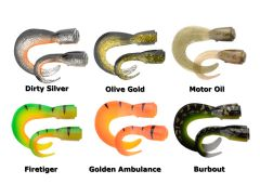 Savage Gear 3D Hard Eel Tails Ersatzschwänze Gummifische   2 Längen