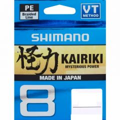 Shimano Kairiki Mysterious Power 8-Fach geflochten 150m Yellow