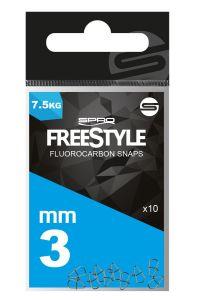 Spro Freestyle Reload Fluoro Snaps | Einhänger