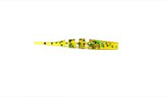 "Favorite Select Solaris 5,5cm Gummifisch | 2.2"" | 6 Stück | Motoroil Green Flake"