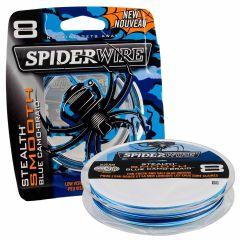 Spiderwire Stealth Smooth 8 Braid Blue Camo geflochtene Schnur 150m