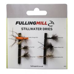 Fulling Mill Grab A Pack - Stillwater Dries Trockenfliegen Set