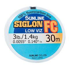 Sunline Siglon FC Low Viz Fluorocarbon Schnur 30m