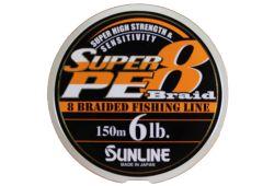 Sunline Super PE Braid 8 geflochtene Schnur 150m