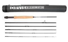 Orvis Clearwater 6pc Fliegenrute-Reiserute Neues Modell
