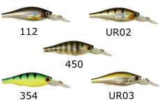 Usami Kurokin 70SP-DR 7,0cm 10,6g   Wobbler