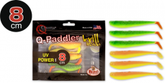 Quantum Q-Paddler Power Pack UV Power Mix 8cm | Gummifischset