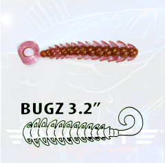 "Favorite Select Bugz 3,2"" Creature Bait | 6 Stück Violet Monster"