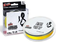Sufix X8 Carrier Braid 150m Hot Yellow