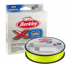 Berkley X9 Braid Flame Green 150m | geflochtene Schnur
