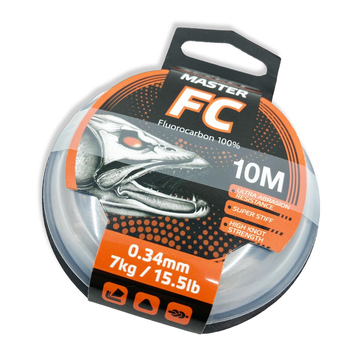 Fluorocarbon Vorfach SELECT Master FC