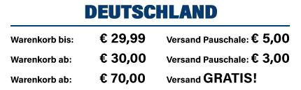 Versandkosten Deutschland