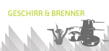 Geschirr/ Brenner